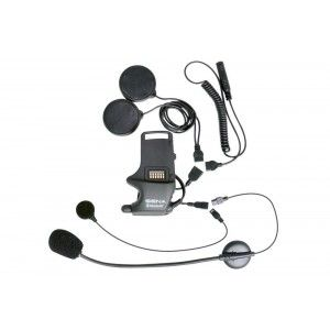Sena SMH-10 Helmet Clamp with Earbuds & Boom Microphone & Wirde Microphone (SMH-A0306)