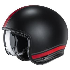 HJC Jethelm V30 Senti Red/Black