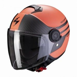 Scorpion EXO-City Jethelm Moda Black/Coral