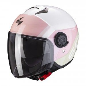 Scorpion EXO-City  Jethelm Sympa White/Pink