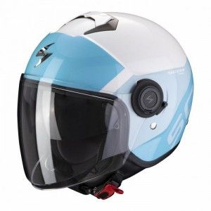 Scorpion EXO-City Jethelm Sympa White/Blue