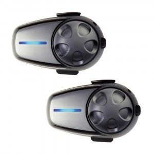 Sena Headset SMH-10 Bluetooth Stereo Headset/Intercom (Universele Mic) Dual (SMH10D-11)